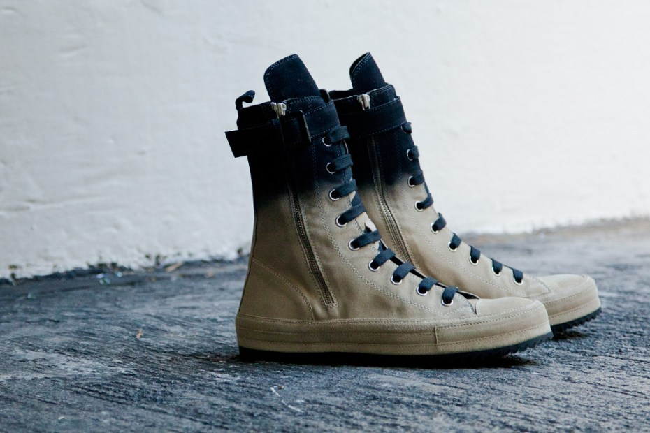 Image of Ann Demeulemeester 2012 Fall/Winter Scamosciato Boots