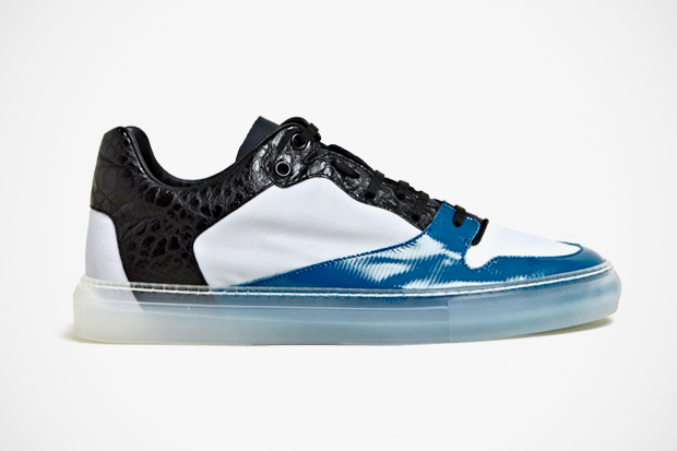 Image of Balenciaga 2012 Fall/Winter Contrast Panel Trainers