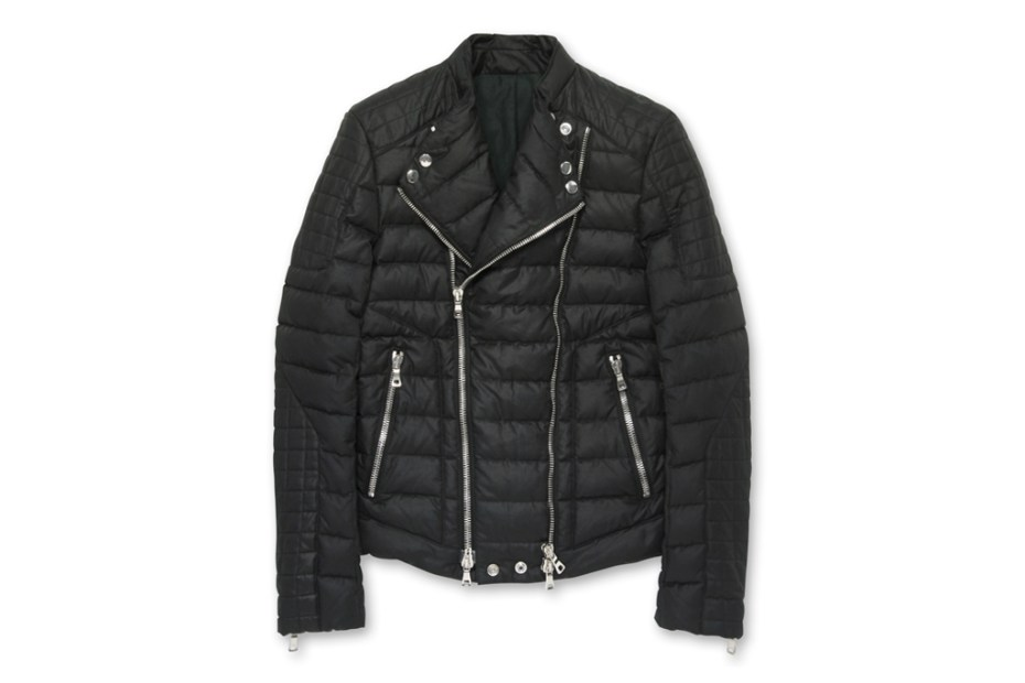 Image of Balmain 2012 Fall Biker Down Jacket