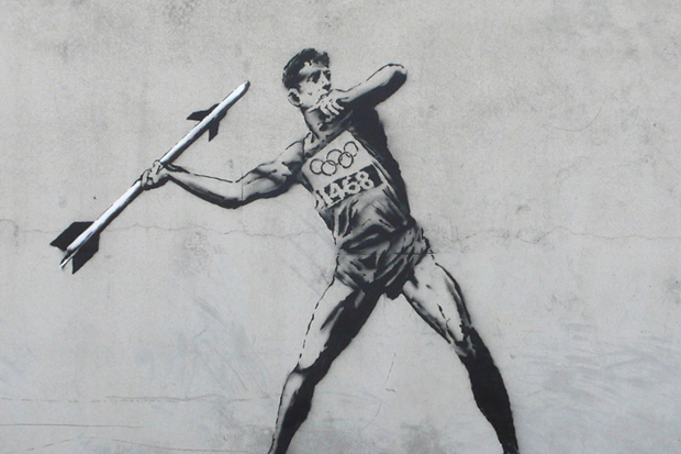 Image of Banksy&#039;s Latest Works Take On the Olympics