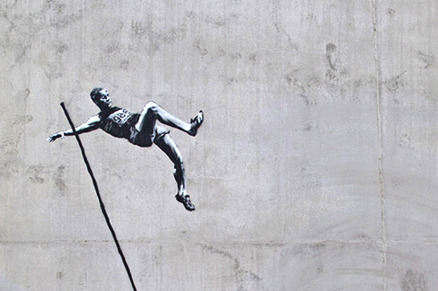 Image of Banksy's Latest Works Take On the Olympics