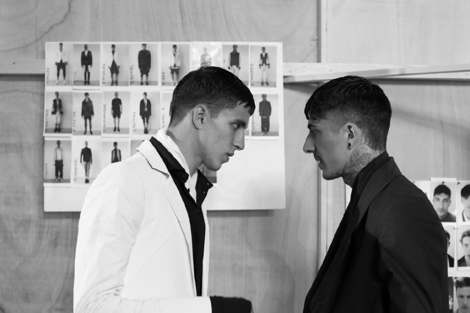 Image of Boris Bidjan Saberi 2013 Spring/Summer Backstage Visuals & Interview
