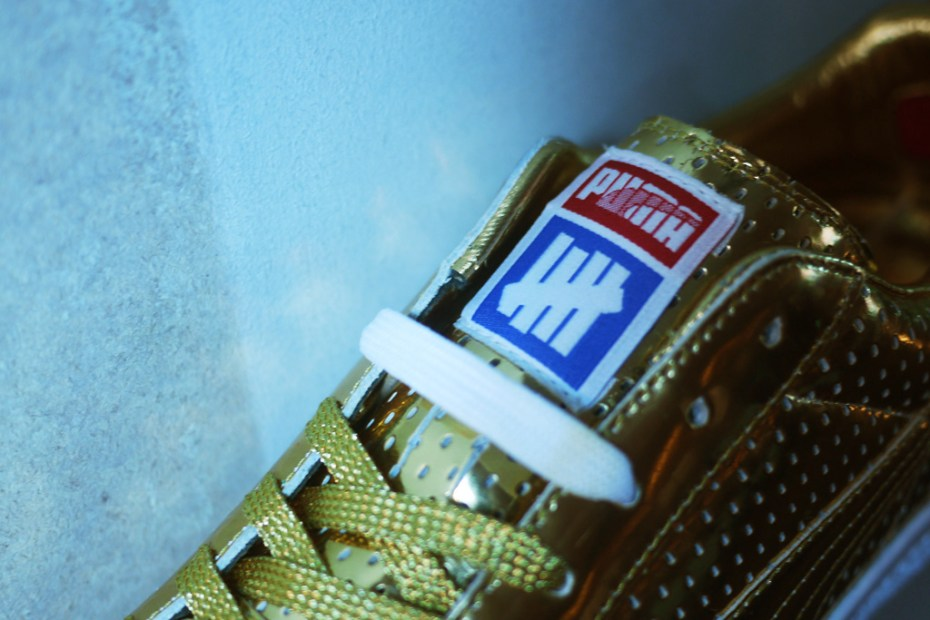 Image of Bread & Butter: UNDFTD x PUMA 2013 Spring/Summer 24k Gold Clyde Preview