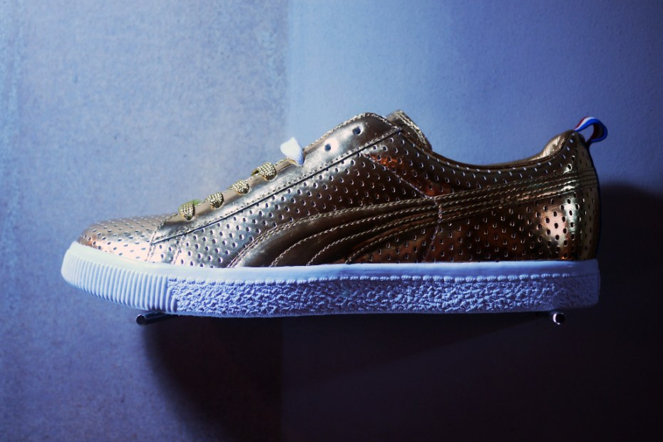 Image of Bread &amp; Butter: UNDFTD x PUMA 2013 Spring/Summer 24k Gold Clyde Preview