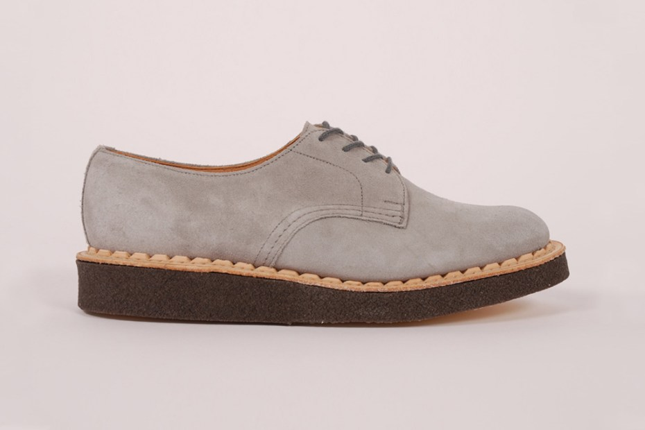 Image of British Remains First Creeper Grey Suede