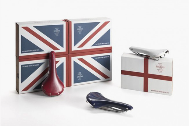 Image of Brooks England Limited Edition Olympic Bike Seats