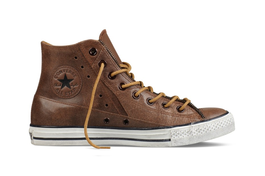 Image of Converse Chuck Taylor Moto Leather Collection