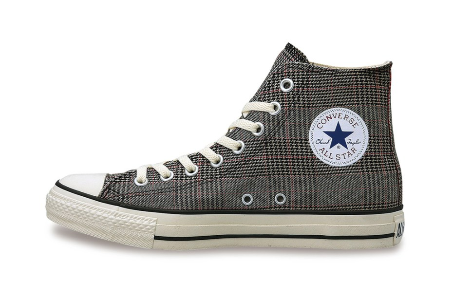 Image of Converse Japan Chuck Taylor All Star Glen-Check Hi