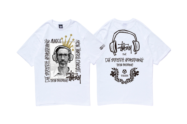 Image of DJ Stretch Armstrong x Stussy T-Shirt Collection
