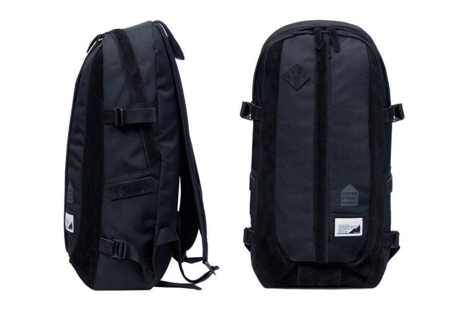 Image of Dover Street Market x master-piece Nylon/Suede Backpack