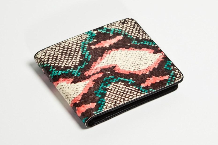 Image of Dries Van Noten 2012 Water Snake Leather Accessories