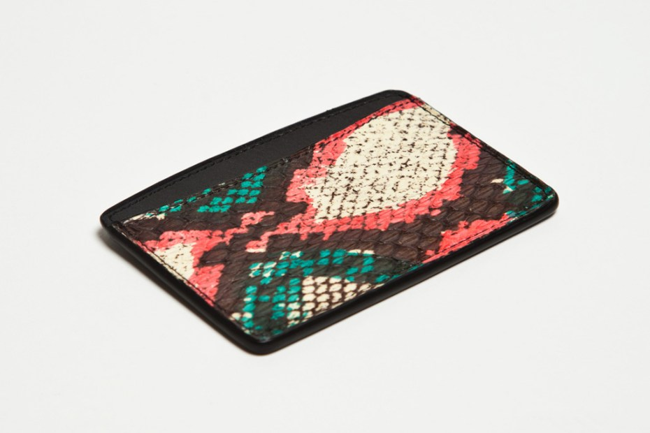 Image of Dries Van Noten 2012 Water Snake Leather Accessories