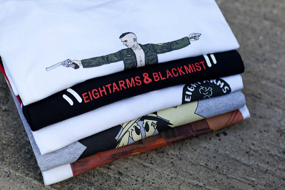 Image of EIGHTARMS & BLACKMIST 2012 Spring/Summer T-Shirt Collection