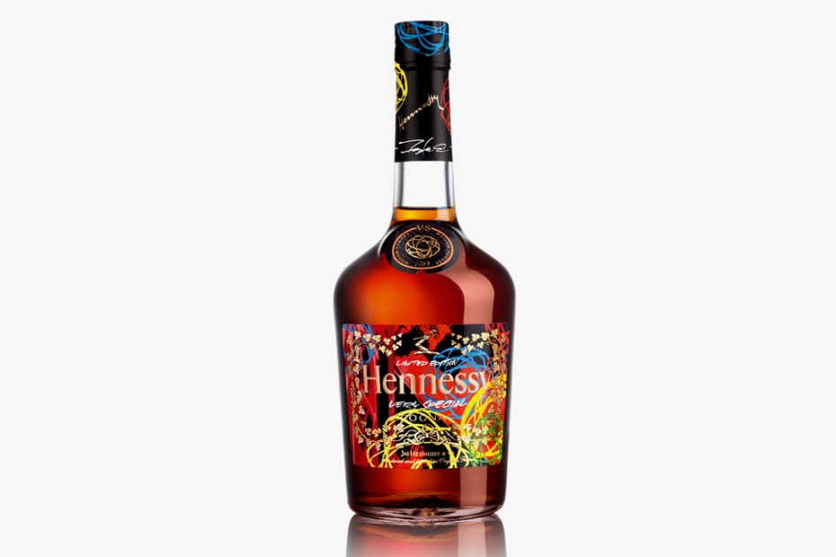 Image of Futura x Hennessy Very Special Cognac Limited Edition Bottle