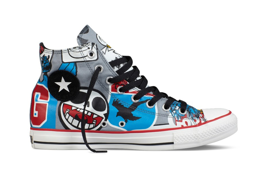 Image of Gorillaz for Converse Chuck Taylor All Star Collection July Release