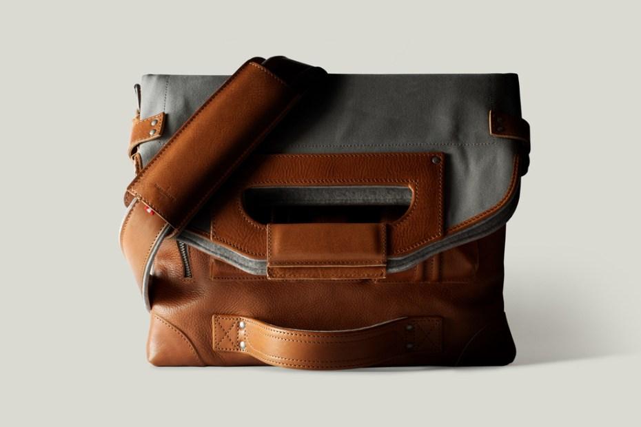 Image of hard graft 2Unfold Laptop Bag / Shore
