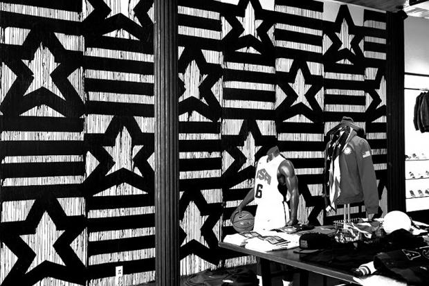 Image of Haze 2012 Olympics Installation @ Nike 21 Mercer Street