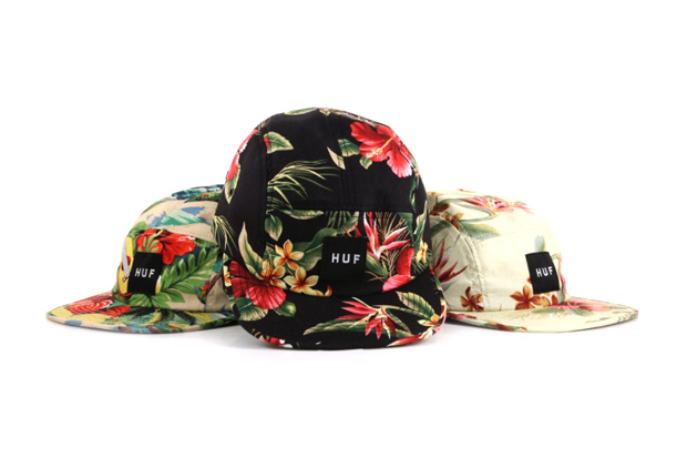 Image of HUF 2012 Hawaiian Print Volley Cap Collection