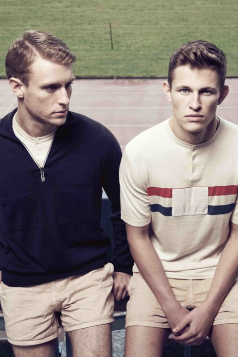 Image of John Smedley for Umbro Tailored 1948 Team GB Olympic Knitwear