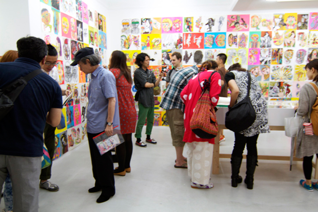 "Image of Keiichi Tanaami ""New Animation and Drawings"" Exhibition @ NANZUKA Recap"
