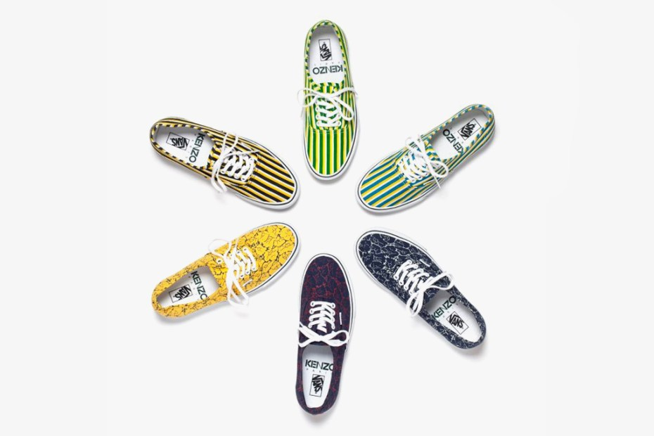 Image of Kenzo x Vans 2012 Fall Preview