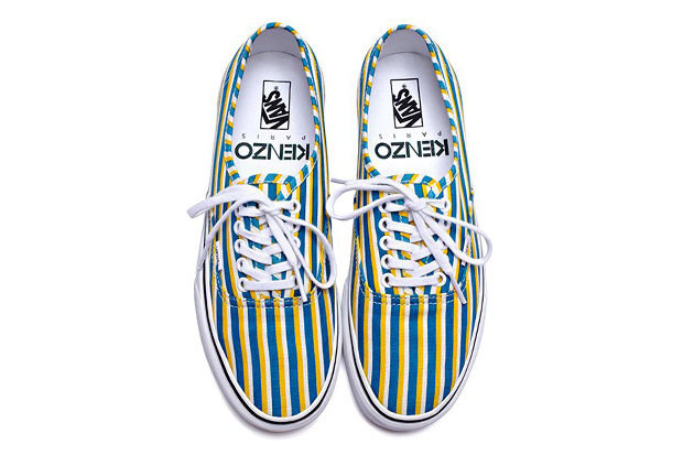 Image of Kenzo x Vans 2012 Fall Footwear