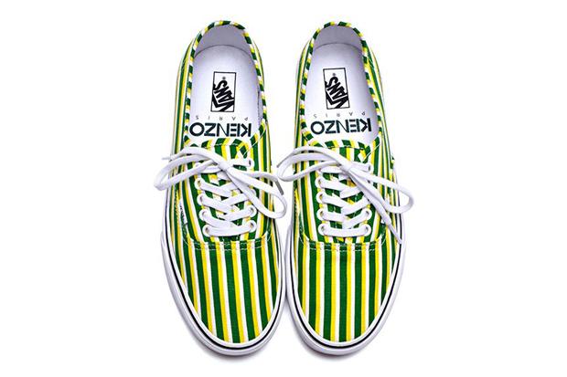 Image of Kenzo x Vans 2012 Fall Footwear