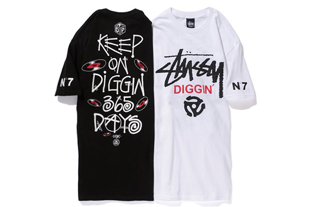 Image of King of Diggin' Production x Stussy 2012 T-Shirt Collection