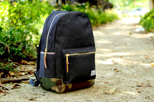 Image of Ronnie Fieg x Herschel Supply Co. Selvage Denim Backpack