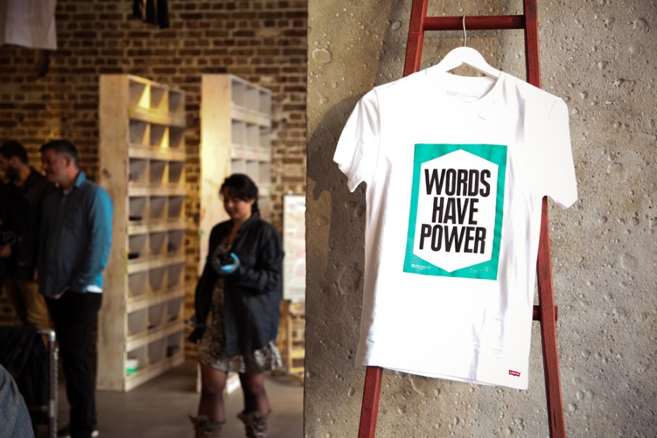 Image of Levi&#039;s Print Workshop in London with Anthony Burrill