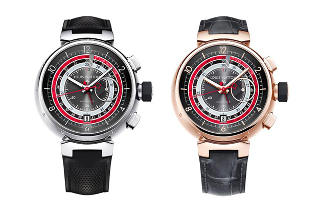 Image of Louis Vuitton Voyagez Tambour Chronograph II Watch
