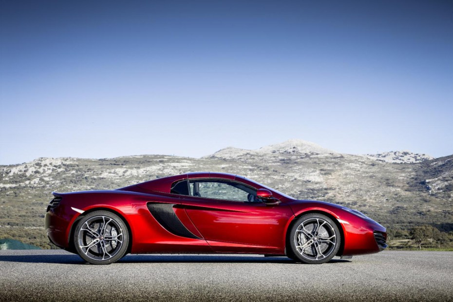Image of McLaren Debuts Topless MP4-12C Spider