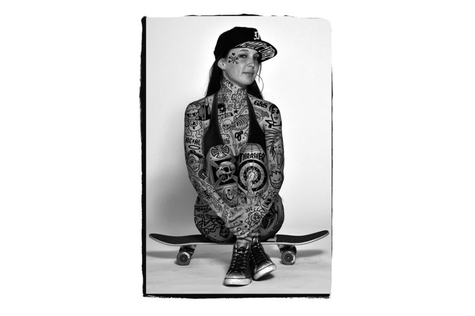 "Image of Mike Giant ""Confessions of an Old Dirty Skateboarder"" Exhibition @ Fecal Face Gallery"