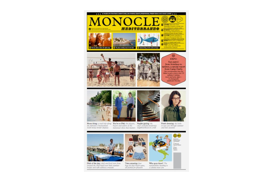 Image of Monocle Mediterraneo 2012 Summer Issue 3