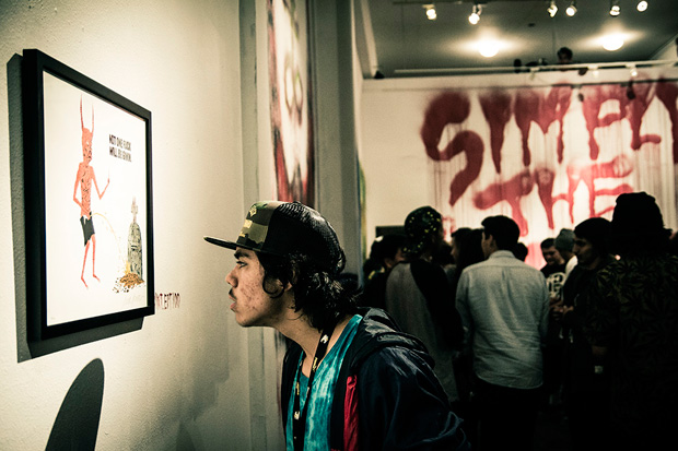 "Image of Neck Face ""Simply the Worst, Nasty Neck Face"" Exhibition @ New Image Art Gallery Recap"