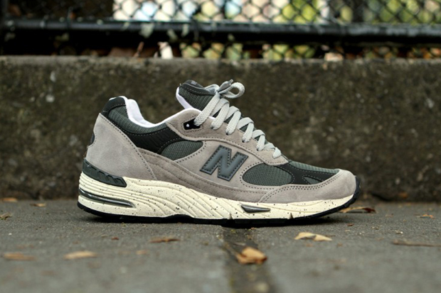 "Image of New Balance ""Grey Speckle"" 991"