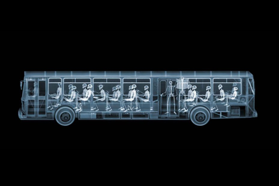 "Image of Nick Veasey ""It's What's on the Inside That Counts"" Exhibition @ Richard Goodall Gallery"