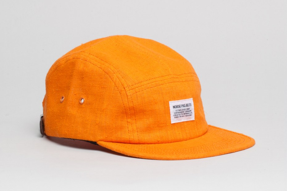 Image of Norse Projects 5 Panel Cap Collection