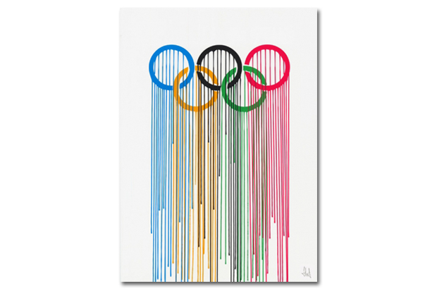 Image of Olympic Rings Print by ZEVS