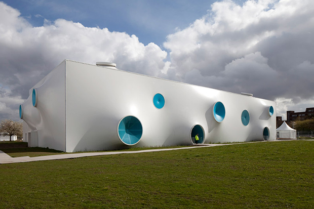 Image of Olympic Shooting Venue by Magma Architecture