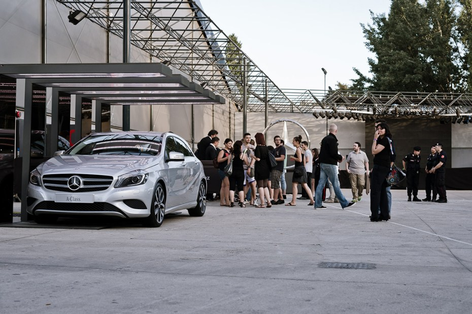 Image of Placebo Kicks Off the Mercedes-Benz A ROCK Series