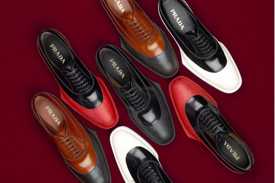 Image of Prada 2012 Fall/Winter Lace-Up Shoes