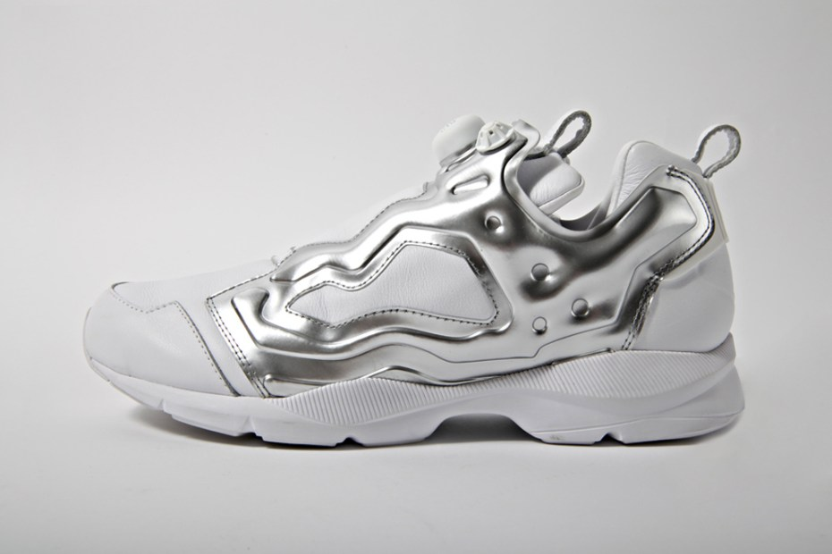 Image of Reebok 2012 Pump Fury HLS &quot;Verbal&quot; White/Silver