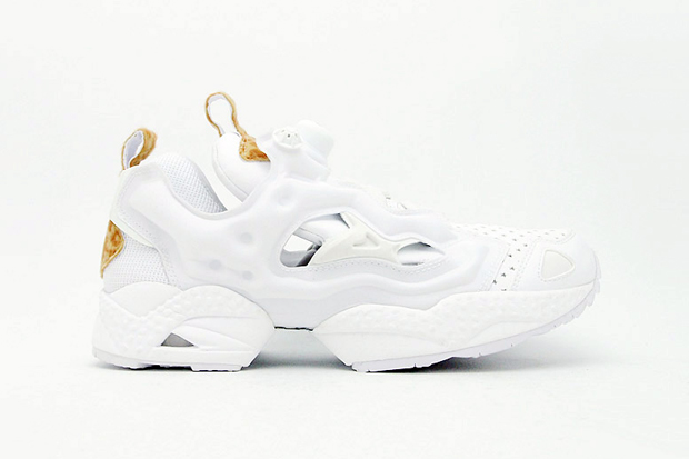 "Image of atmos x Reebok INSTA PUMP FURY ""White Leopard"""