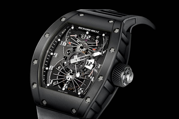 Image of Richard Mille RM 022 Carbon Tourbillon Aerodyne Dual Time