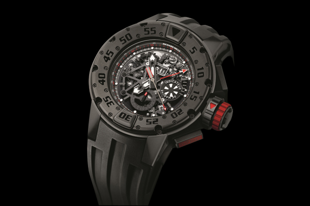 "Image of Richard Mille RM 032 ""Dark Diver"" Watch"