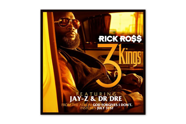 Image of Rick Ross featuring Dr. Dre &amp; Jay-Z  3 Kings