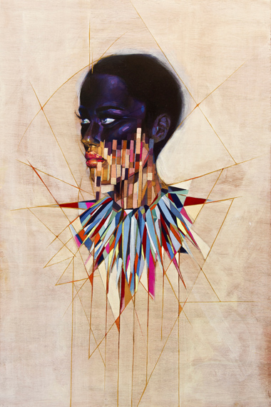 "Image of Sam Rodriguez ""FUSION MAKES THE WORLD GO ROUND"" Exhibition @ Cukui Gallery"