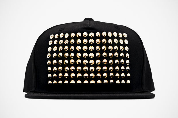 Image of Stampd' The Gold Studded Snapback Hat