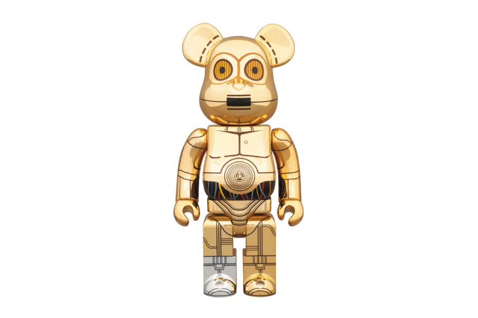 Image of Star Wars x Medicom Toy 400% C-3PO Bearbrick